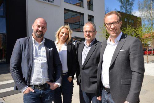Bilde av nåværende ledergruppe i Novo Nordisk