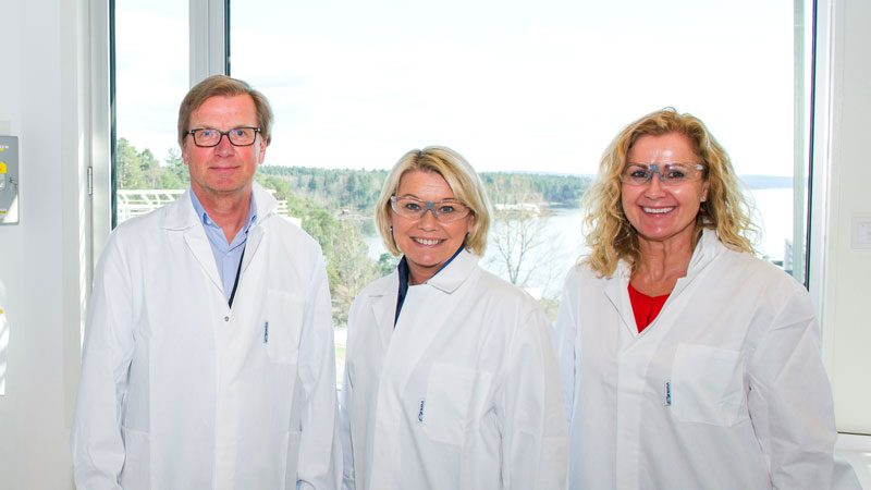 Næringsministeren åpnet Bayer-lab