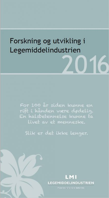 Legemiddelindustrien forsker mer i Norge