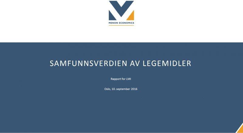Nye tall for verdiskaping i norsk helsenæring lanseres 28.april