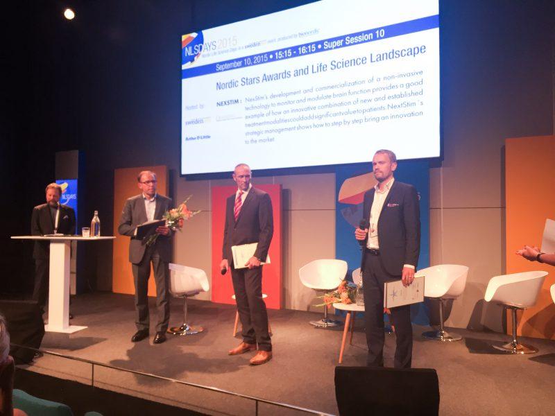 BergenBio, Nexstim og Amra er vinnerne av Nordic Star Awards