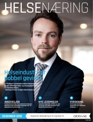Nytt magasin om helsenæringen