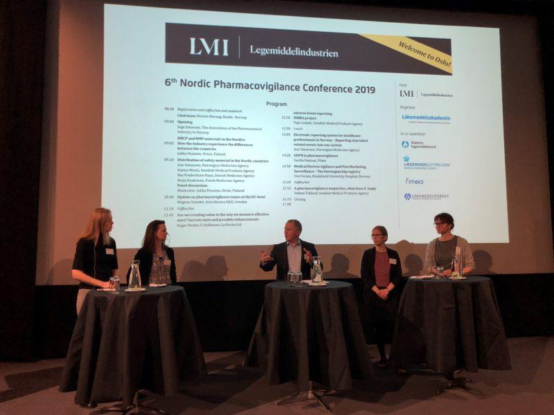 Nordisk utveksling under pharmacovigilance-konferansen i Oslo