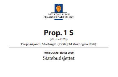 Høydepunkter fra statsbudsjettet