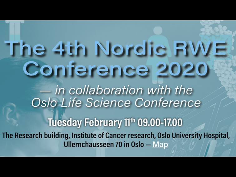 Velkommen til The 4th Nordic RWE Conference