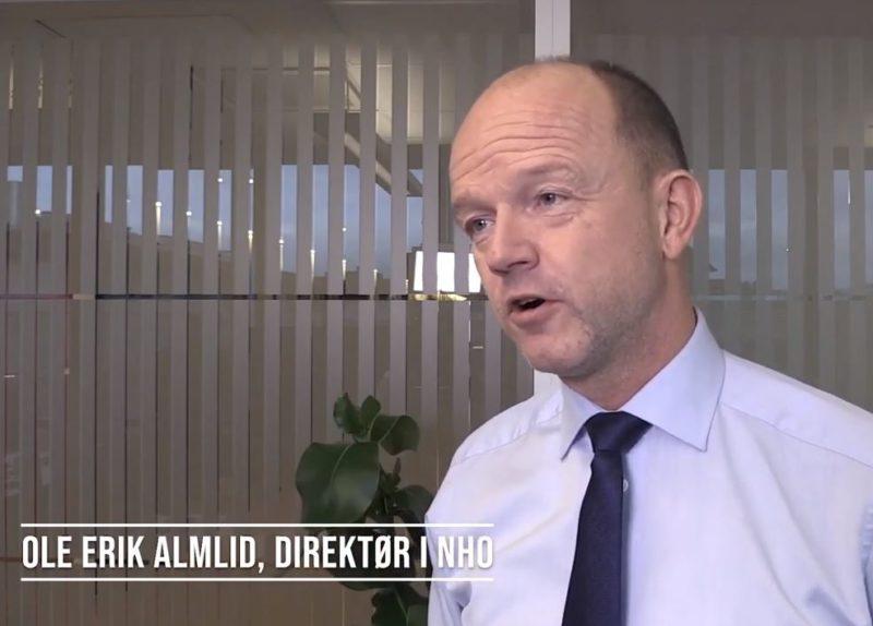 NHO-direktøren: Stolt av legemiddelindustrien