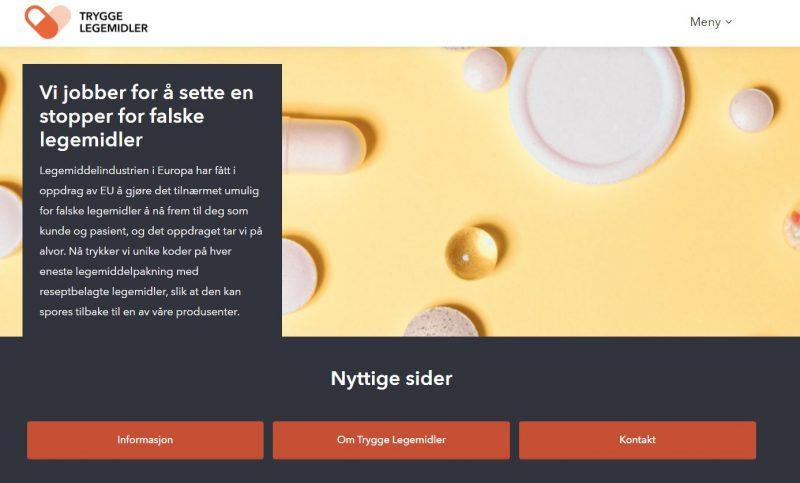 Nomvec lanserer ny nettside om trygge legemidler