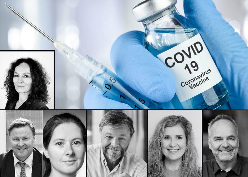 Folkeopplysningsmøte om Covid-vaksiner