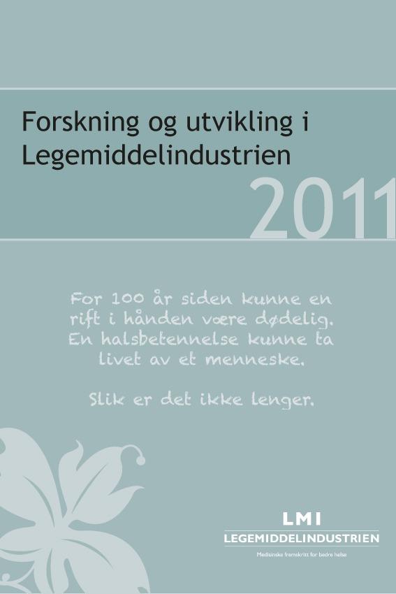 LMIs nye FoU-undersøkelse 2011