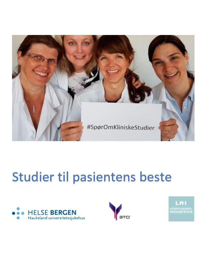 Brosjyre kliniske studier